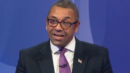 James Cleverly on Question Time