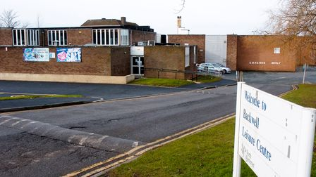 View of Backwell Leisure Centre, Farleigh Rd, Backwell.14-1-09