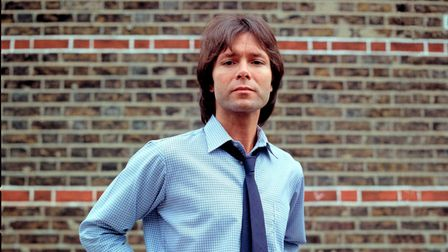 A portrait of Cliff Richard in 1982