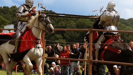 Harewood Medieval Faire Jousting, Harewood House - Photo by Red Zebra Photography