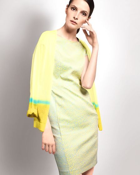 This season it's all about synthetic pastels; shades of aqua, turquoise, vanilla and buttercup are d