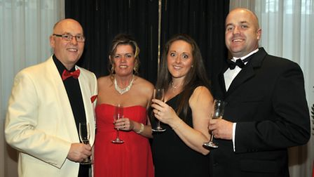 Royal Engineers Association Bomb Disposal Branch Charity Dinner, Queens Hotel, Leeds.Adrian and Pam