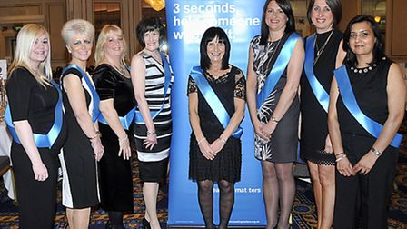 Reading Matters 3rd Fundraising Gala Dinner, Midland Hotel, Bradford.Staff from Barclay's Bank who