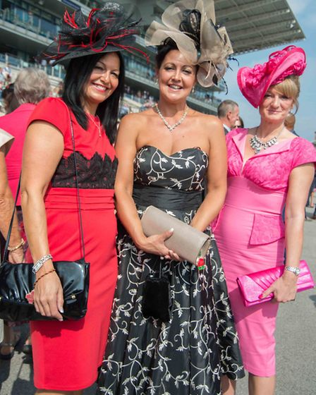 The glamour of St Leger Ladies Day last year