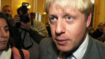 Boris Johnson in 2004, when he was editor of the Spectator. Newly misogynistic and sexist comments f