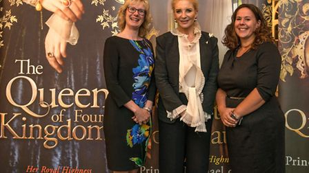 Fiona Movley, Princess Michael of Kent, Sharon Canavar