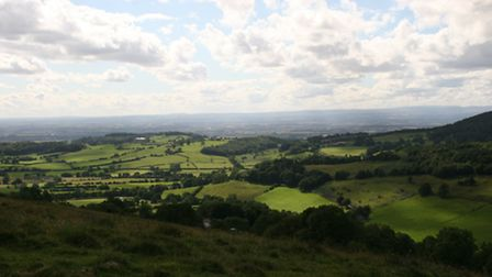 The view from the ridge