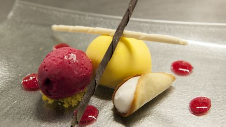 On the menu: Mango and passion fruit mousse