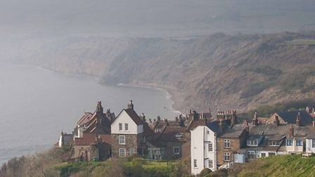 Robin Hoods Bay. The new Yorkshire coastal path will eventually connect with other routes to create