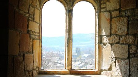 View over Skipton from the castle by Anna Whiteley