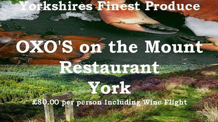 Yorkshire Grown Yorkshire Fed at Oxo's Restaurant