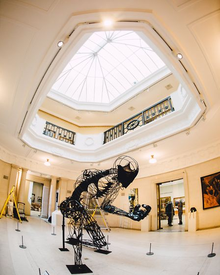 Ferens is a star attraction - a must destination for the visual arts