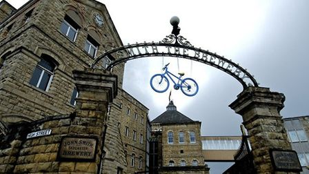 John Smiths Brewery welcomed the 2016 Tour de Yorkshire to Tadcaster Photo:Joan Russell