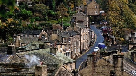 Hills of Holmfirth by Joan Russell