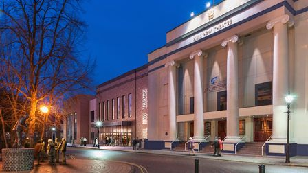 An artist's impression of Hull New Theatre once refurbishment is complete