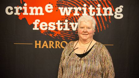 Val McDermit best selling author and co-founder of Theakston Old Peculier Crime Writing Festival