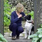 Carolyne and Flint at the Traddock Hotel in Austwick
