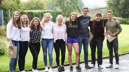 Giggleswick students celebrate their exam results