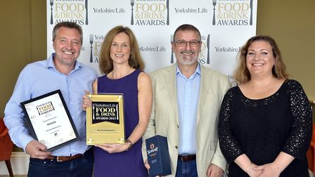 Dining Pub of the Year Award in association with Sykes House Farm, Wetherby. Winner The Alice Hawth