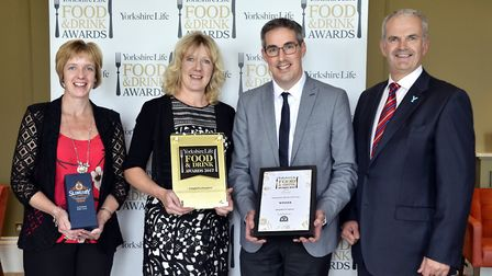 Independent Retailer of the Year in association with Wensleydale Creamery. Winner Campbell's of Leyb