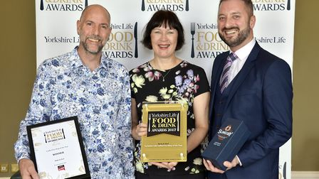 Coffee Shop/ Tea Room of the Year in association with Hospitality Action. Hayden Howells and Ruth Ha