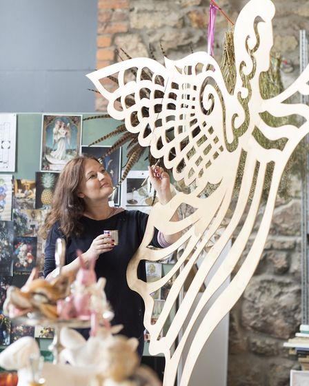 A gallery of angels is being created at Castle Howard