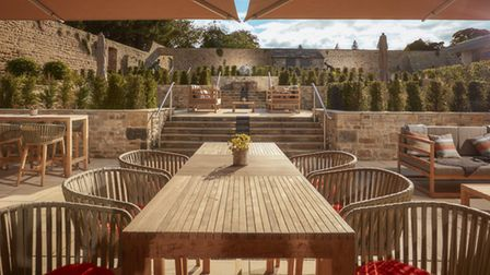 The Terrace at Swinton Hall's new spa