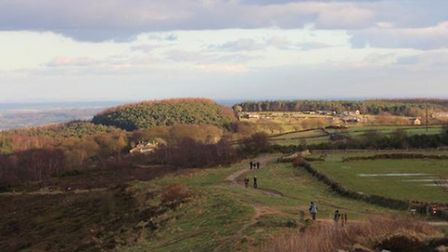 A walk on Otley Chevin by Phillip Longley