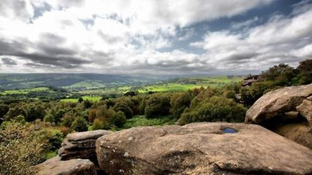 View from Brimham by Graham Beardsley
