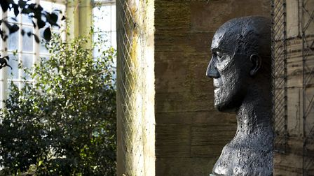 Every part of the park is a potential gallery Elisabeth Frinks In Memoriam II Photo: Jonty Wilde