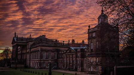 Sunset at Wentworth Woodhouse by Caroline Berry