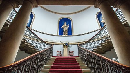 The grand staircase at Wentworth Woodhouse Photo Jane Vernon