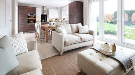 Inside the Ashbourne show home at Churchfields c.Redrow