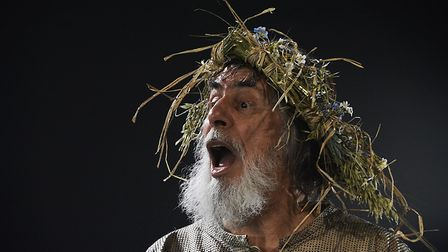 Rutter in King Lear in a Northern Broadsides production directed by Jonathan Miller Photo: Nobby Cla