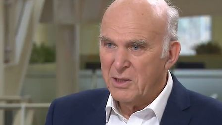 Sir Vince Cable, seen here on Sky News, told BBC's Today programme that the Lib Dem revoke Article 5