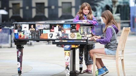 Everyone and all ages are invited to follow the Piano Trail