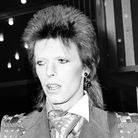 Singer David Bowie at the premiere of 'Live and Let Die', Odeon Leicester Square, London. Photograph