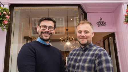 Warren Booth and Marcus Booth have built up the Yorkshire Soap Co. over 14 years Photo: Aaron Gilpin