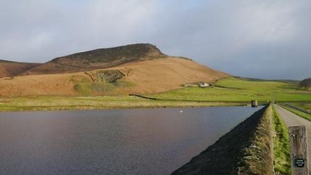 Embsay Crag above Embsay Reservoir by Anthony Donlan