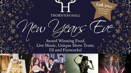 New Year's Eve at Thornton Hall