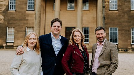 Helen and Dan Gill of Dine with Sarah Beeny and Graham Swift (c) Peter Hugo
