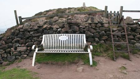 Bench on Sharp Haw by Terry Fletcher
