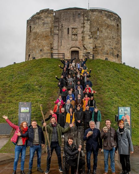 Actors from the 2019 company of Shakespeare's Rose Theatre in York (c) Charlotte Graham