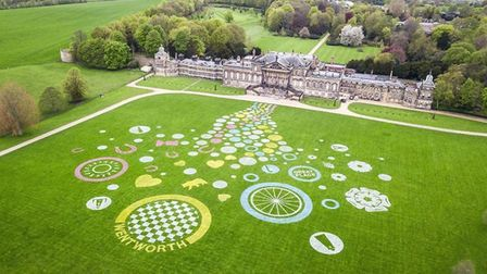 Land art at Wentworth Woodhouse