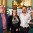 Robert Tulloch, Laura Carter, with Andrew and Nicola Whitwam
