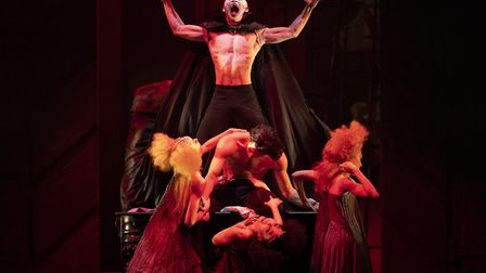 Northern Ballet dancers in Dracula (2) - photo Emma Kauldhar