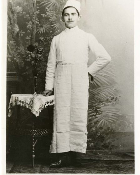 The Swiss founder of Bettys, Fritz - Frederick Belmont.