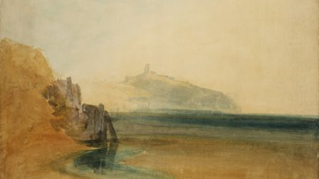Scarborough ,c.1811. Turner, Joseph Mallord William 1775-1851. Tate. Accepted by the nation as part