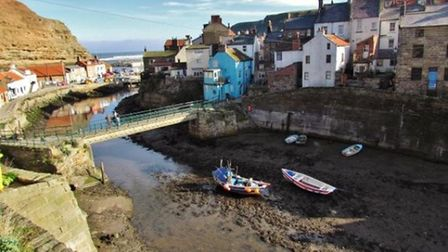 Staithes by Janet Danks