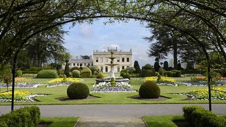 Fountain Garden at Brodsworth Hall by Gordon Ratcliffe